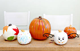 Home Decorating Ideas For Halloween by No Carve Pumpkin Decorating Ideas Mom 4 Real
