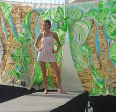 Jungle Backdrop Perez Rubio Humble Jungle Backdrop For South Beach Fashion Show