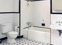 Bathroom Ideas Black And White Colors Best 25 Bathroom Tile Gallery Ideas On Pinterest White Bath