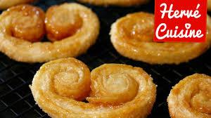 recette de cuisine simple et rapide recette palmiers sucre et caramel facile et rapide
