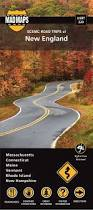 New England Map by Mad Maps Usrt220 Scenic Road Trips Map Of New England