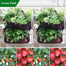 green field strawberry vertical garden tower pots buy strawberry