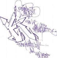 alphabet letter k sketches