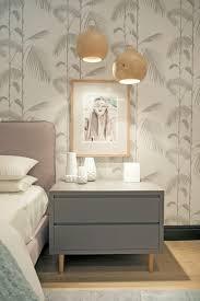 bedroom decor bright pendant lights modern nightstand wall paint