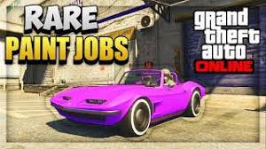 gta 5 paint jobs new create u0026share modded crew colors feature