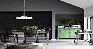 peinture cuisine tendance peinture cuisine le gris anthracite une couleur déco tendance