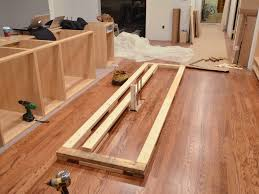 how to install a kitchen island how to install kitchen island to tile floor morespoons bda959a18d65