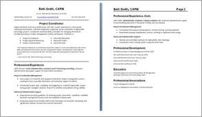 Resume Label Example by Sample Resume Format For Fresh Graduates Two Page Format 22 Two