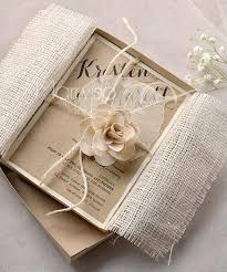 luxury wedding invitations burlap wedding invitations with lace and rope diy wedding
