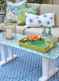 patio table with removable tiles diy patio table 15 easy ways to make your own bob vila