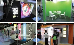 nichols trade show trends new ways to use color shapes