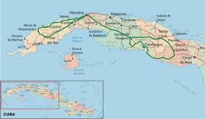 Cuban Map Flies In Your Teeth Plans For 2012 Bike Trips