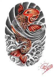30 koi fish tattoo designs with meanings