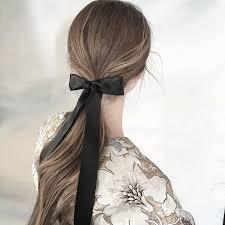 ribbon for hair how to wear a hair ribbon inspired by new york fashion week s fall