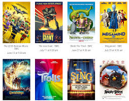 cinemark kid s summer clubhouse 10 for 5 or 1 per
