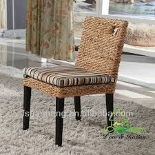 Dining Room Furniture Ideas Decorating Seagrass Dining Chairs With Black Wooden Dining Table