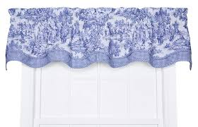 amazon com victoria park toile bradford valence window curtain
