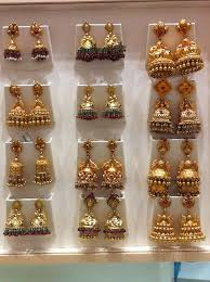 south jewellery designers 8 best jhumkas images on indian jewellery design