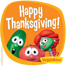 veggietales thanksgiving eat your veggies veggietales