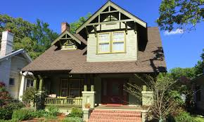 once slated for demo this craftsman house is now on tour