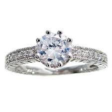 cz engagement ring sterling silver marquise cz 3 band engagement wedding ring
