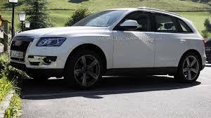 Audi Q5 Facelift - audi q5 s spied testing in the alps
