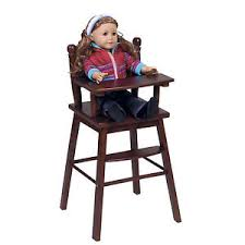 baby doll high chair furniture kitchen 18 inch dolls nursery toys
