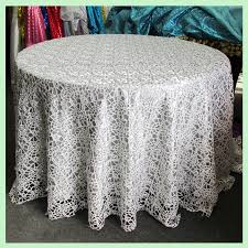 silver lace table overlay the most ivory lace tablecloth 60 inches round table overlays