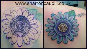 passion flower cover up northern soul tattoo liverpool
