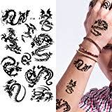 amazon com mythic dragon temporary tattoo 109 health u0026 personal