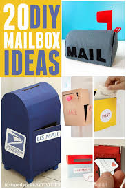 mailbox craft 20 cutest mailbox ideas mailbox ideas diy mailbox and craft