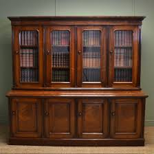 glazed bookcase antique library bookshelves bookshelfes antique