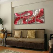 plain wall paint for living room with artistic paintings ideas
