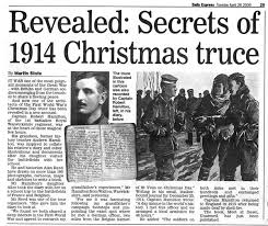 world war i the 1914 christmas truce global research centre