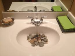 river rock bathroom ideas bathroom sink cool river rocks in bathroom sink best home design