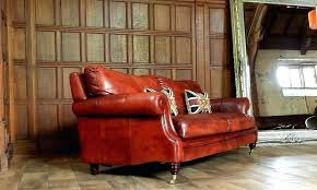 Chestnut Leather Sofa Leather Sofa Victorian Style Leather Sofa Victoria Leather Couch