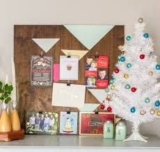 10 modern ways to display your christmas cards design improvised