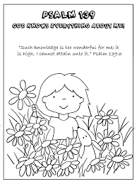 god created me coloring page kids coloring