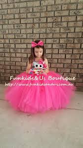 hello kitty inspired tutu dress and headband bow kitty birthday