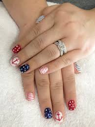 60 cute anchor nail designs anchor nails and makeup