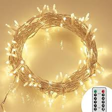 led fairy lights with timer remote and timer 36ft 100 led outdoor battery fairy lights 8 modes