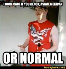 Normal Meme - i dont care if you black asian mexican or normal meme factory
