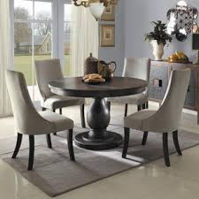 Dining Chairs And Tables Espresso Kitchen Dining Room Sets You Ll Wayfair