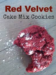 red velvet cake mix cookies the perfect cookie for christmas