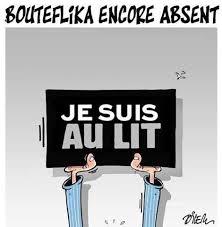 je serai absente du bureau caricature de presse en algérie bouteflika encore absent