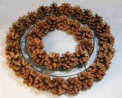 another bright idea pine cone wreaths a tutorial 0 1 rustic