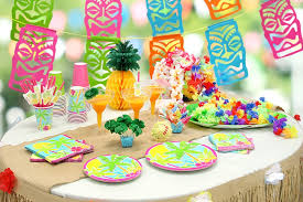 hawaiian party ideas tiki tastic hawaiian party ideas party delights