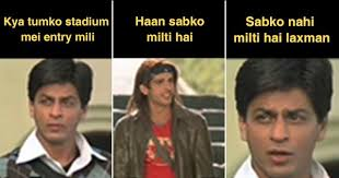 Bollywood Meme Generator - 13 years after its release main hoon na is going viral again