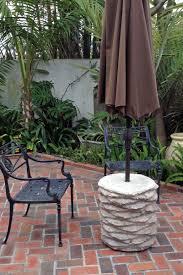 Palm Tree Patio Umbrella Montecito Design Regency Table