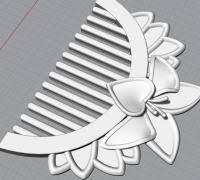 mulan hair comb mulan 3d models to print yeggi